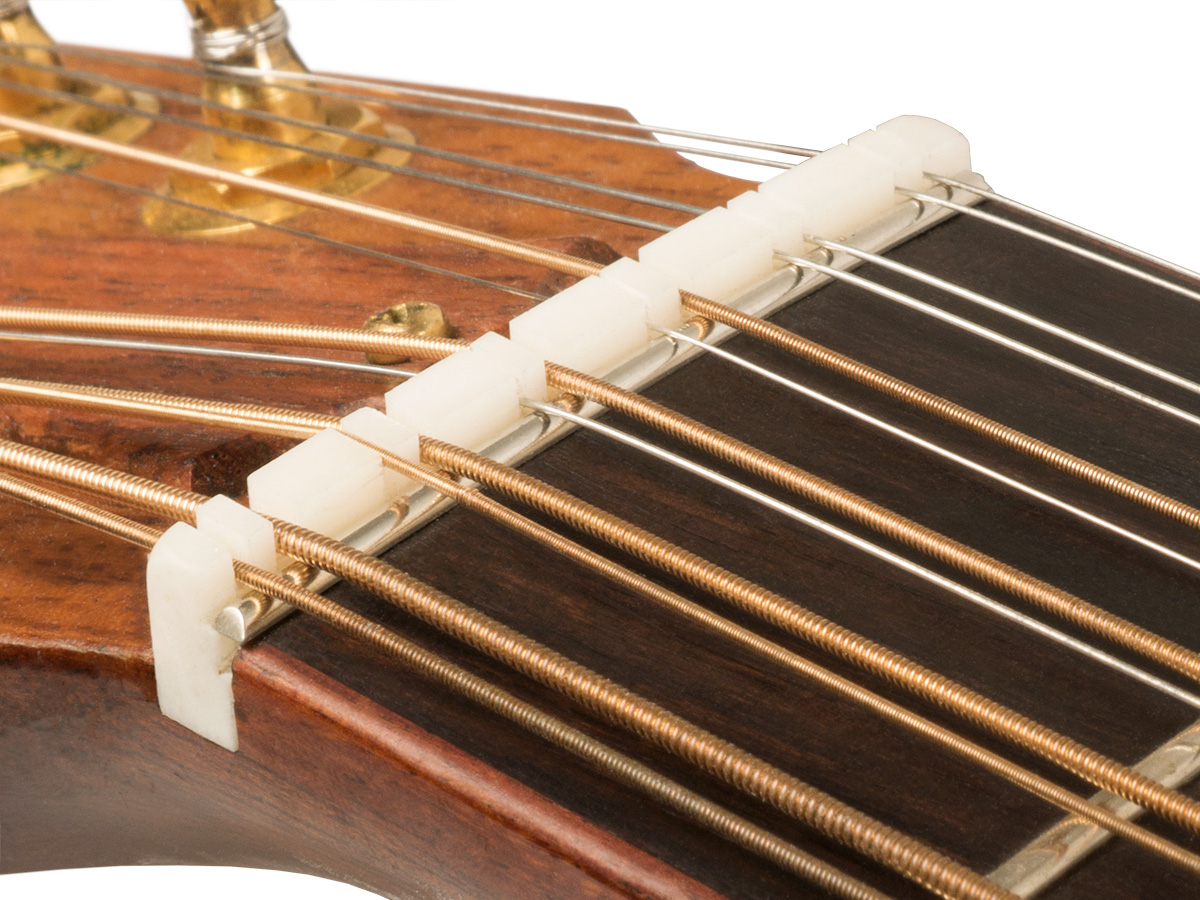 Zero Glide 12-String Replacement Nut- Slotted
