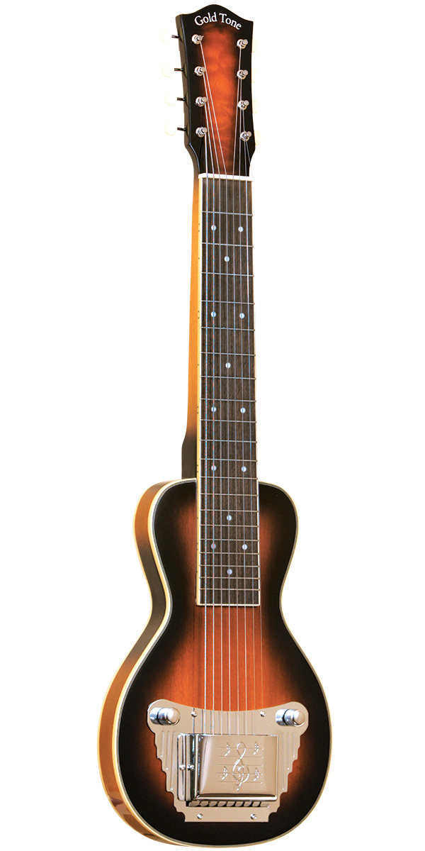 Gold Tone 8-String Solid Body Lap Steel For Left Hand Players