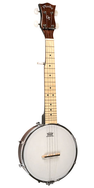 Gold Tone Plucky Mini Banjo For Left Handed Players
