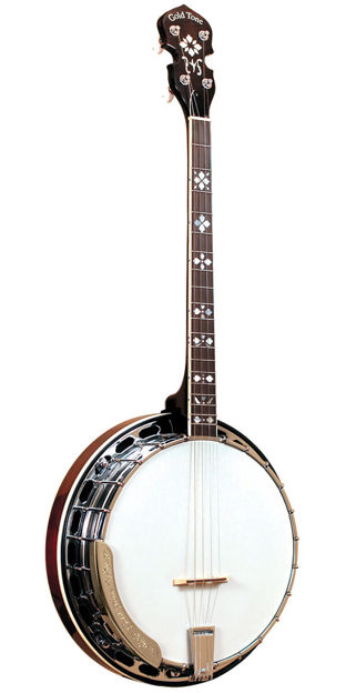 Gold Tone Ts-250 Professional 4-String Tenor Banjo For Left Handed Players