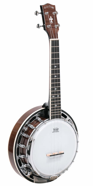 Gold Tone Concert-Scale Professional Banjo Ukulele With Resonator For Left Hand Players